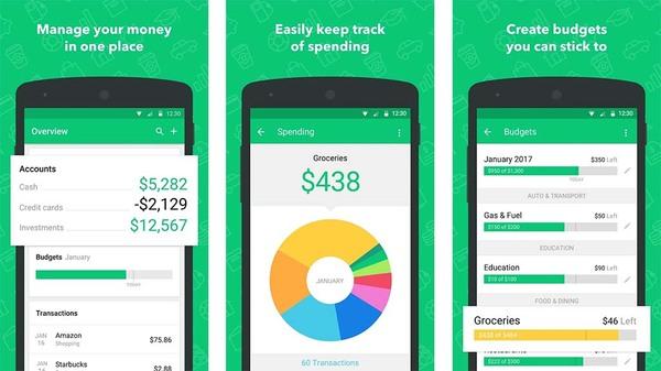 Ứng dụng điện thoại giúp bạn kiểm soát chi tiêu