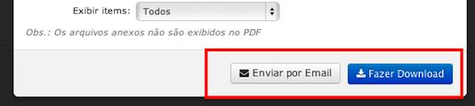Envio de PDF por e-mail