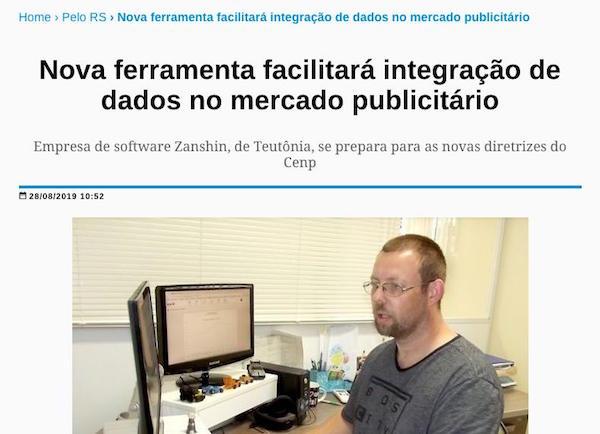 Reportagem sobre nova ferramenta para o mercado publicitário