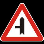 1103-1 - Križišče prednostne in neprednostne ceste