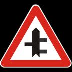 1103-3 - Križišče prednostne in neprednostne ceste