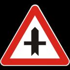 1103 - Križišče prednostne in neprednostne ceste