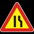 1109-1-R - Zoženje vozišča