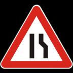 1109-1 - Zoženje vozišča