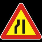1109-2-R - Zoženje vozišča