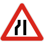 1109-2 - Zoženje vozišča