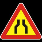 1109-R - Zoženje vozišča