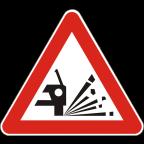 1113 - Pršenje kamnitih zrn