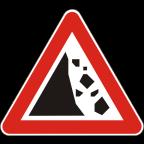 1114-1 - Kamenje pada na vozišče