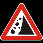 1114 - Kamenje pada na vozišče