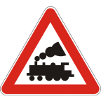 1202 - Nezavarovan prehod ceste čez železniško progo
