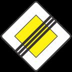 2104 - Konec prednostne ceste