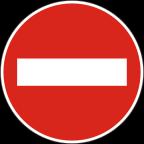 2201 - Prepovedan promet v eno smer