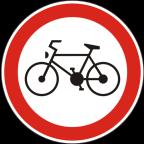 2206 - Prepovedan promet za kolesa