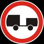 2208 - Prepovedan promet za motorna vozila s priklopnim vozilom