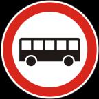 2211 - Prepovedan promet za avtobuse