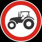 2212 - Prepovedan promet za traktorje