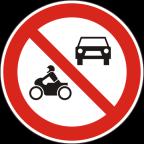 2215 - Prepovedan promet za vsa motorna vozila