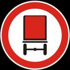 2218 - Prepovedan promet za vozila, katerih tovor vsebuje nevarno blago