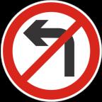 2226 - Prepovedano zavijanje v označeno smer