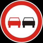 2228 - Prepovedano prehitevanje motornih vozil