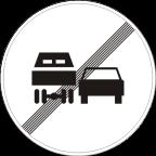 2231 - Prenehanje prepovedi prehitevanja za tovorna vozila
