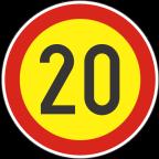 2232-2-R - Omejitev hitrosti
