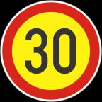 2232-3-R - Omejitev hitrosti