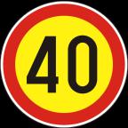 2232-4-R - Omejitev hitrosti