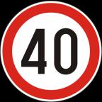 2232-4 - Omejitev hitrosti
