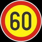 2232-6-R - Omejitev hitrosti