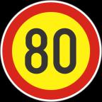 2232-8-R - Omejitev hitrosti