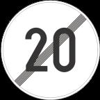 2233-2 - Prenehanje omejitve hitrosti