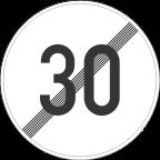 2233-3 - Prenehanje omejitve hitrosti