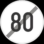2233-8 - Prenehanje omejitve hitrosti