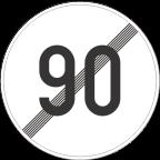 2233-9 - Prenehanje omejitve hitrosti