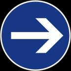 2301-1 - Obvezna smer