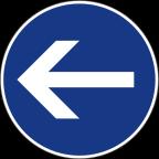 2301-2 - Obvezna smer
