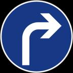 2301-4 - Obvezna smer