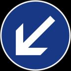 2303-1 - Obvezna vožnja mimo