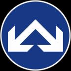 2303-2 - Obvezna vožnja mimo