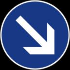 2303 - Obvezna vožnja mimo