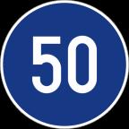 2305 - Najmanjša dovoljena hitrost
