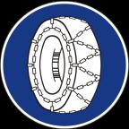 2307 - Uporaba snežnih verig