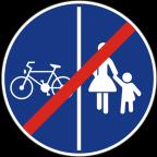 2314 - Konec pasov za pešce in kolesarje
