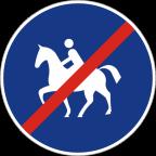 2318 - Konec steze za jezdece