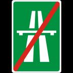 2402 - Konec avtoceste