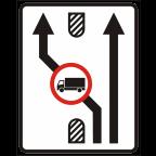 2409-3 - Omejitve in prepovedi na prometnem pasu
