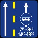 2411-1 - Prometni pas za vozila javnega prevoza potnikov
