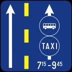 2411-3 - Prometni pas za vozila javnega prevoza potnikov